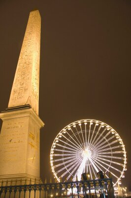 Concorde Square at Paris, France