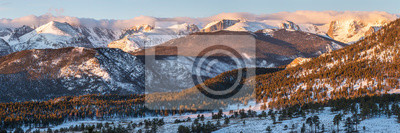 Continental DIvide and Moraine Park Panorama