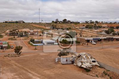 Coober Pedy widok panoramiczny, South Australia