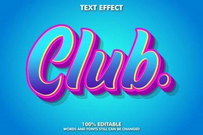 Obraz Cool graffiti text effect for youth culture