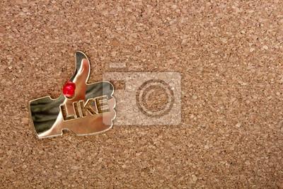 Cork-board z jak ikony