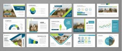 Obraz Corporate slideshow templates