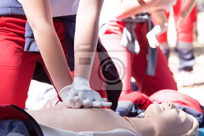 Obraz CPR - Cardiopulmonary resuscitation and first aid class