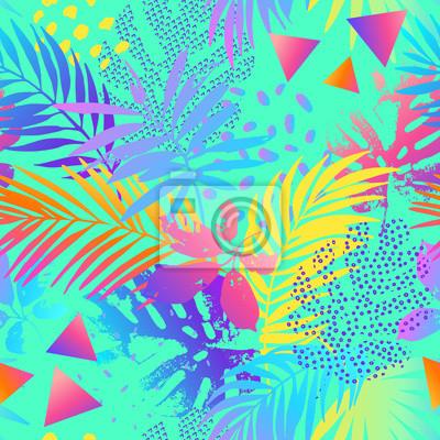 Creative gradient seamless pattern.