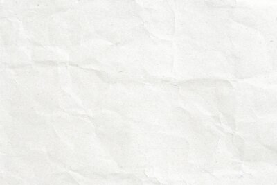 Obraz Crumpled białego papieru