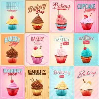 Obraz Cupcake Bakery SHOP