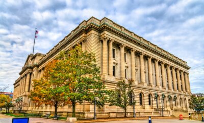 Obraz Cuyahoga County Courthouse in Cleveland, Ohio