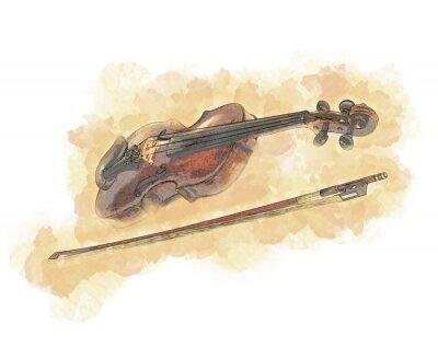Obraz Cyfrowej grafiki ilustracja Nowożytny laptop