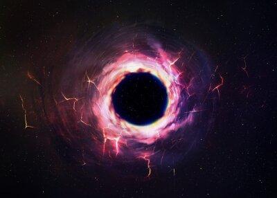 Obraz Czarna dziura w kosmosie