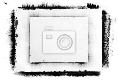 9de6ab0eb4f57 Obraz czarna ramka atramentu na wymiar • czarny