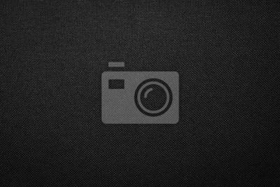 Obraz Czarna tkanina tekstura tło. Ciemny materiał na ubrania.