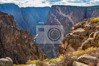 Czarny Kanion Parku Narodowego Gunnison