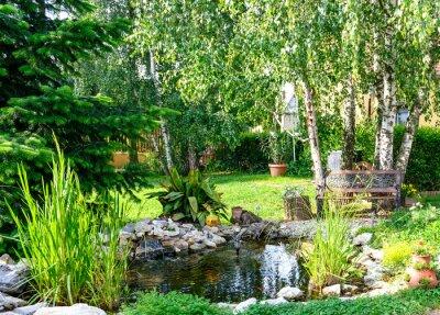 Obraz Czas odpocząć w ogrodzie