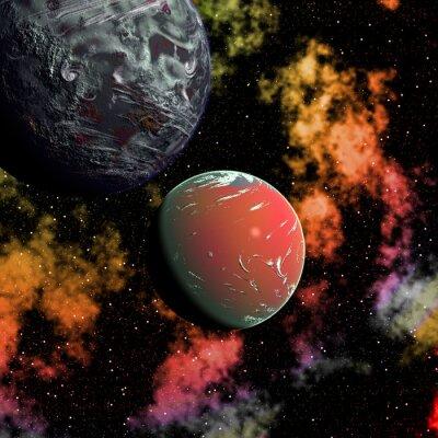 Obraz Czerwona Planeta