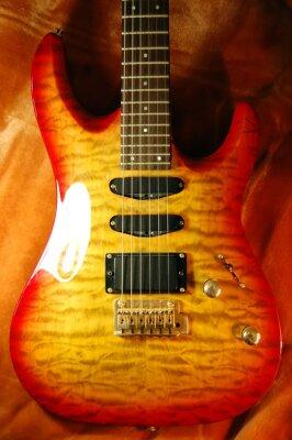 Czerwone gitary na widok futra 2
