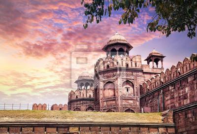 Obraz Czerwony Fort w Indiach