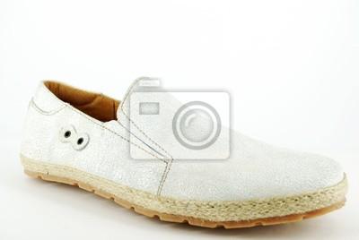 człowiek biały but