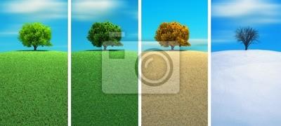 Obraz Cztery pory roku