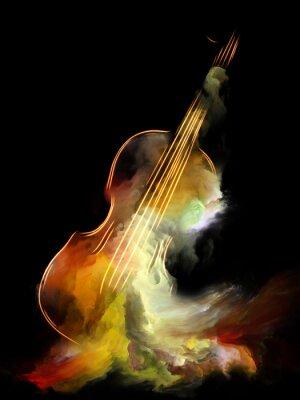 Obraz Czy marzenie na skrzypcach?
