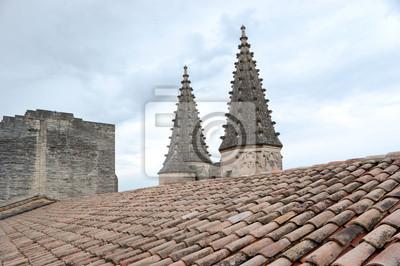 Dach pałacu