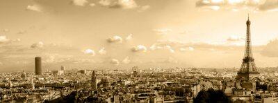 Obraz dachy Paryża