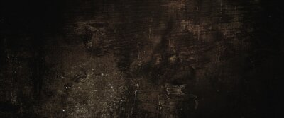 Obraz Dark grunge background with scratches, Scary red dark walls, concrete cement texture for background