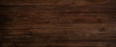 Obraz Dark wood background, old black wood texture for background