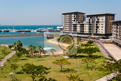 Darwin Waterfront rozwój miasta