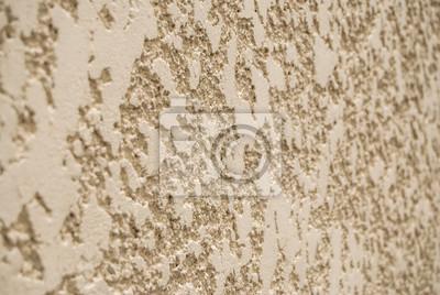 Dekoracyjne ściany Tynk Z żółtym Struktury Jako Tekstury Obrazy Redro