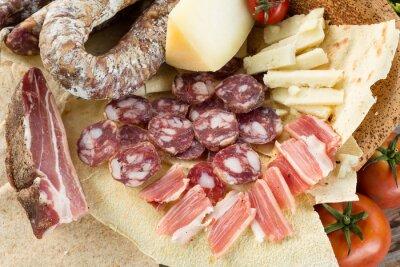 Obraz Della Cucina Prodotti tipici Sarda