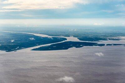 Delta rzeki Parana w Argentynie.