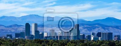Obraz Denver Skyline