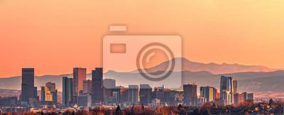 Obraz Denver skyline panorama - High Resolution