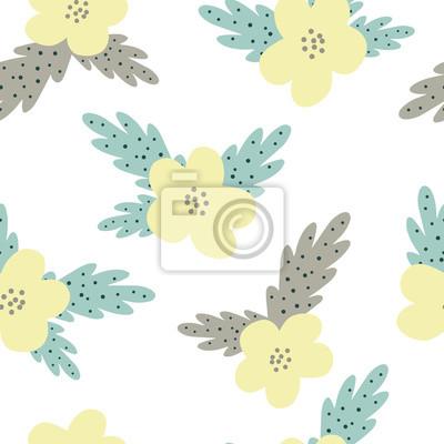 Design floral seamless pattern