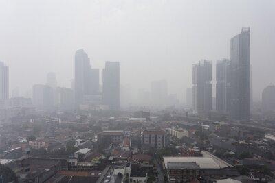 Deszcz nad Dżakarcie