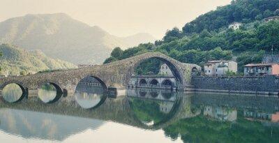 Obraz Devils Bridge Włochy