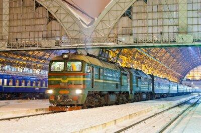 Diesel pociąg pasażerski