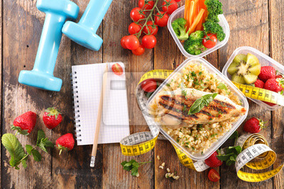 Obraz dieta jedzenie koncepcja