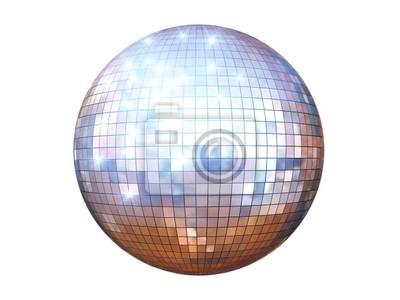 Obraz disco ball izolowane
