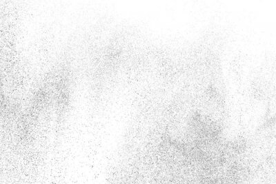 Obraz Distressed black texture. Dark grainy texture on white background. Dust overlay textured. Grain noise particles. Rusted white effect. Grunge design elements. Vector illustration, EPS 10.