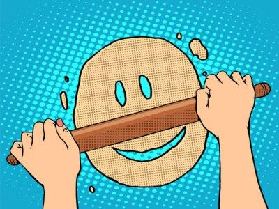 Obraz Dobre ciasta buźkę