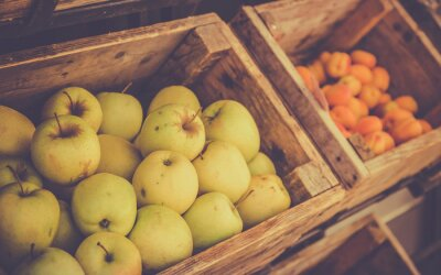 Obraz Dojrzałe jabłka