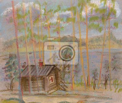 Obraz Dom na ląd