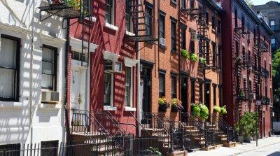 Domy na Gay Street, Nowy Jork