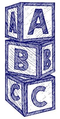 Obraz Doodle styl