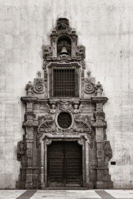 Doorway in Madrid street
