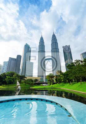 Obraz Downtown Kuala Lumpur w dzielnicy KLCC