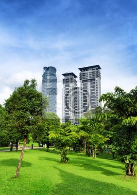 Downtown Kuala Lumpur w dzielnicy KLCC