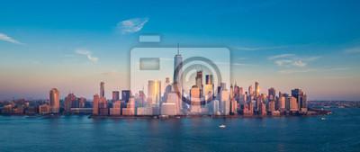 Obraz Downtown Manhattan Panorama