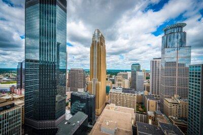 Obraz Downtown Minneapolis i okolic miejskich